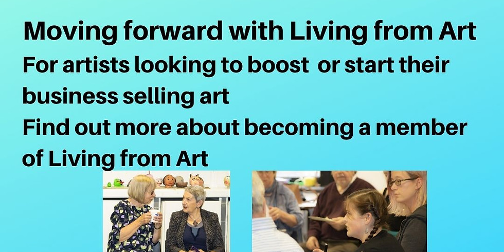 Moving forward with Living from Art 15 October on Zoom