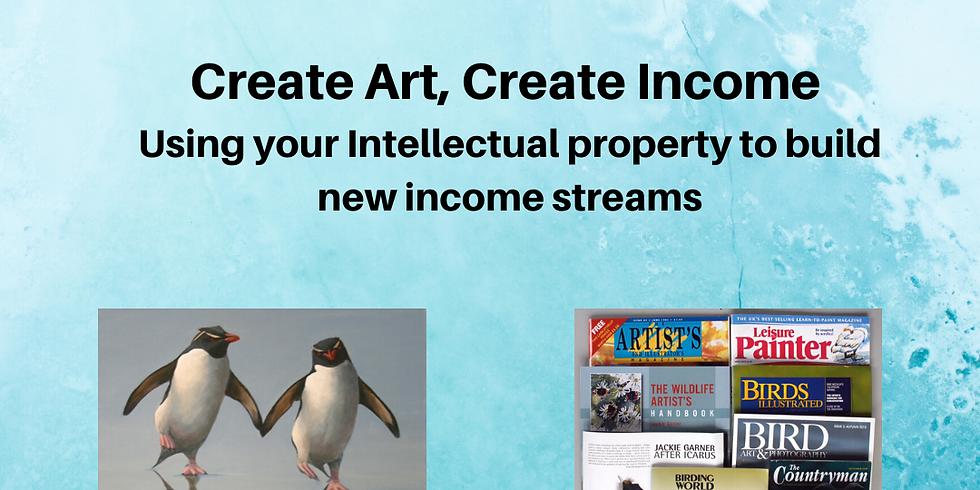 Living from Art Online: Jackie Garner Create Art: Create Income