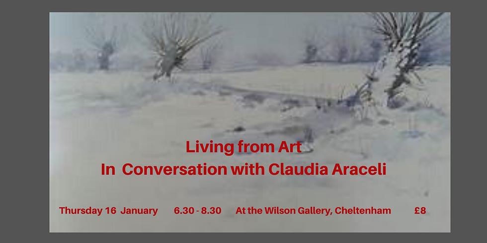 January Meeting: In conversation with Claudia Araceli