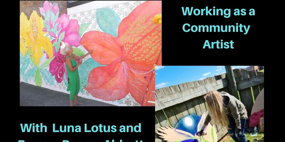 Working as a Community Artist