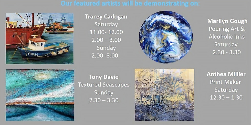 Living from Art:Autumn Exhibition. Saturday 10.40 - 4.30 Sunday 1.30 - 4.00