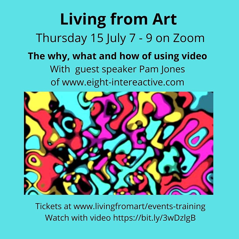 Using video to promote and share your art. Why, what, and how.