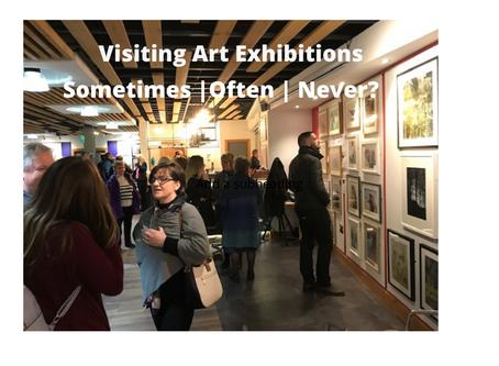 Visiting Art Exhibitions- Sometimes – Often - Never?
