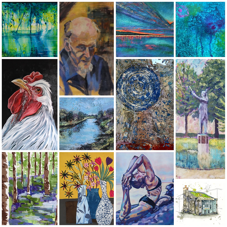 Living from Art Exhibition 2 - 5 June 10.30 - 4.30