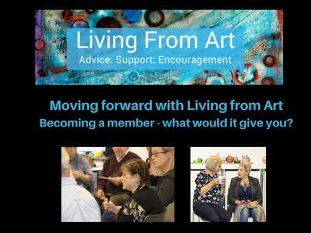 Moving forward with Living from Art