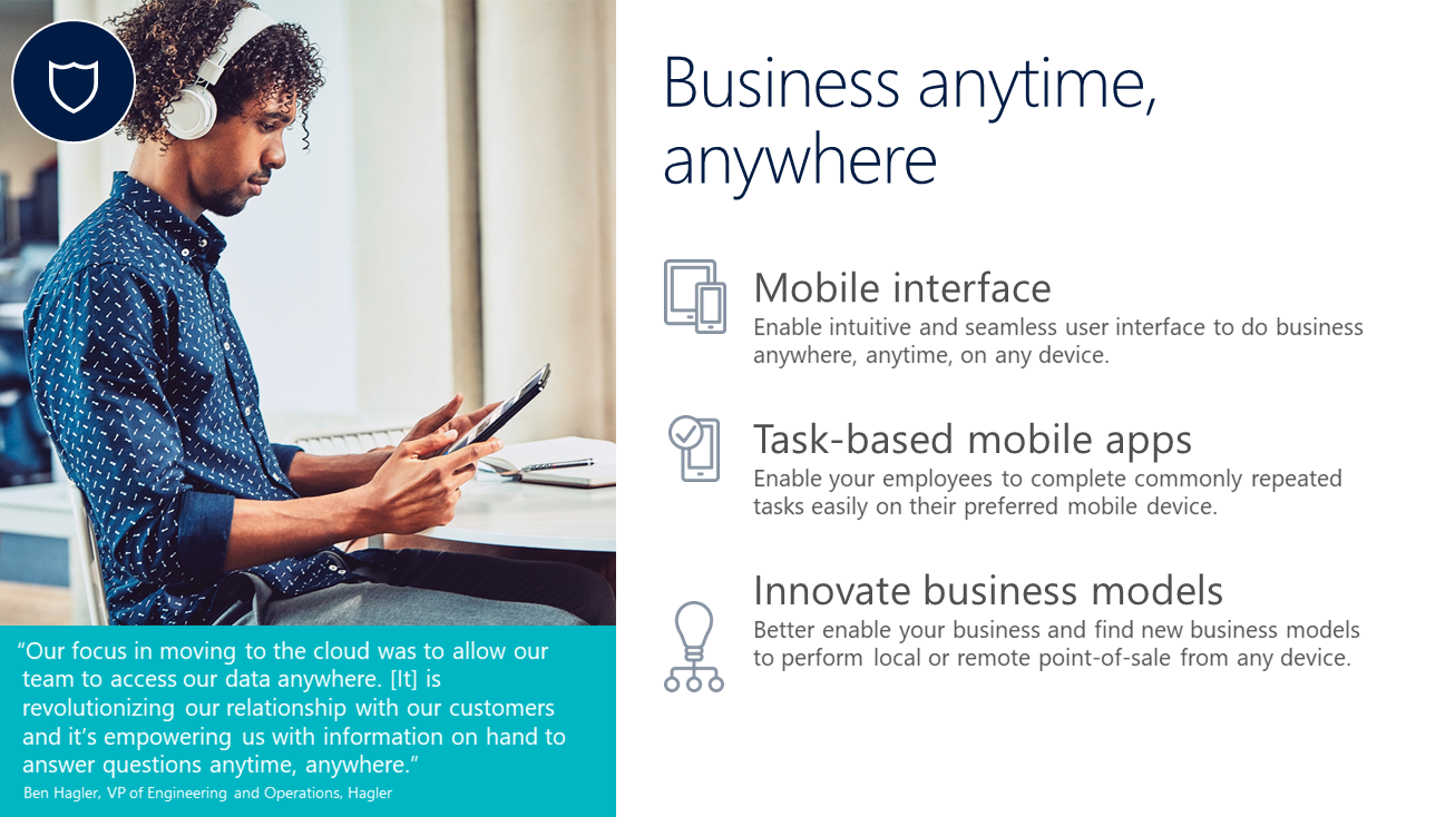 Business Anytime Anywhere
