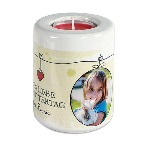 Keramik Kerzen- Teelichthalter