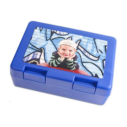 Brotzeitbox Blau