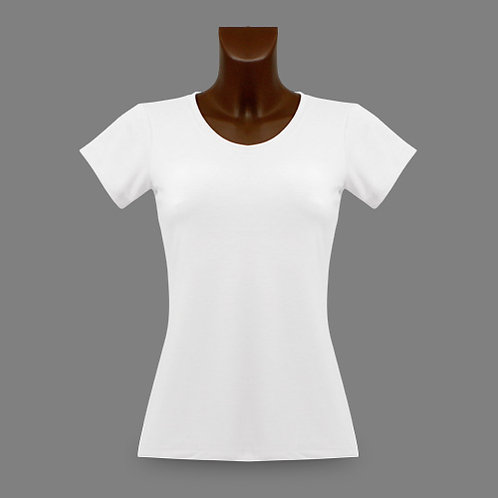 Basic Lady Slim Fit-New Generation, Farbe White