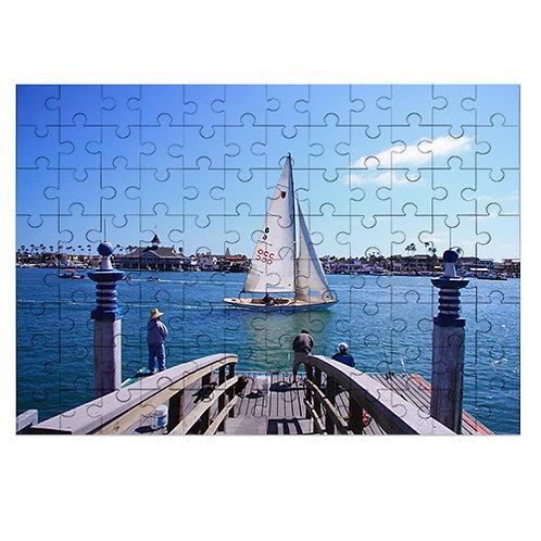 Holzpuzzle, Größe 250 x 360 x 3 mm