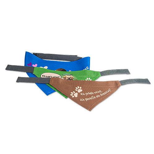 Hundehalstuch mit Klettverschluss