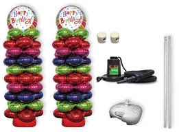 Foil Balloon Column Kit