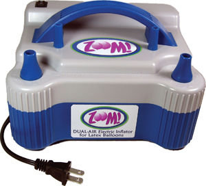 ZOOM! Electric Dual Air Inflator