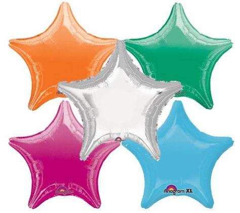 Foil Star Balloons