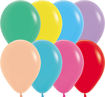 """Solid 5"""" Latex Balloons"""