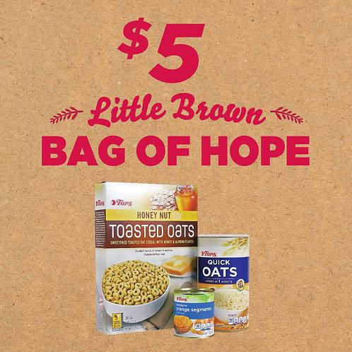$5 Little Brown Bag of Hope