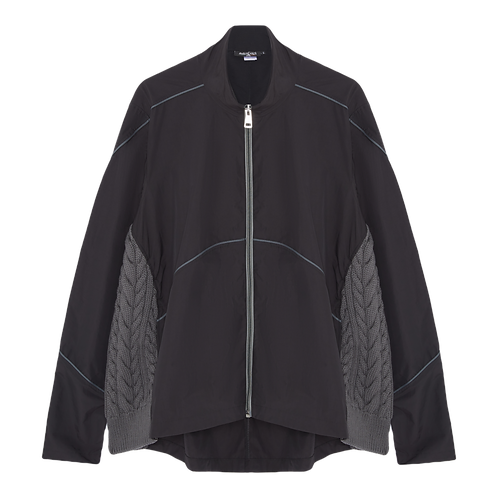 OVERSIZED NYLON LIGHTWEIGHT JACKET