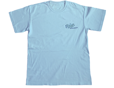Baby blue oversized Cotton T