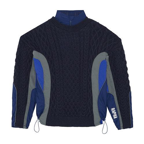 Knit navy Hybrid - Size M