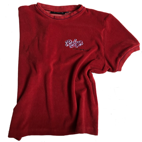 RED TOWLING T