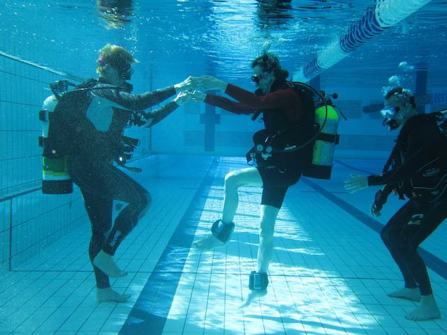 scuba hyperbaric oxygen therapy workout