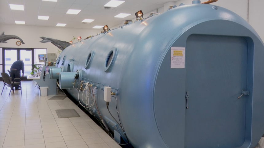idaho hyperbaric oxygen therapy multi-place chamber helps 4,000 patients