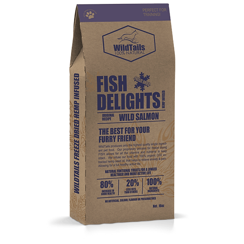 Fish Delights - Wild Salmon Pet Food