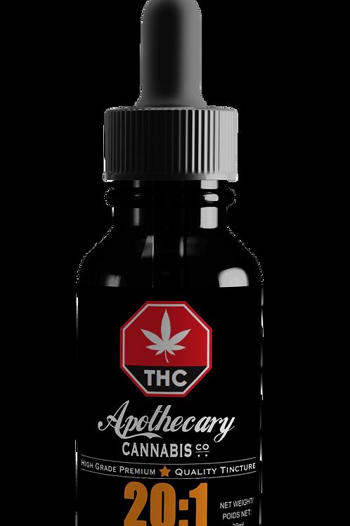 20:1 CBD:THC Tincture