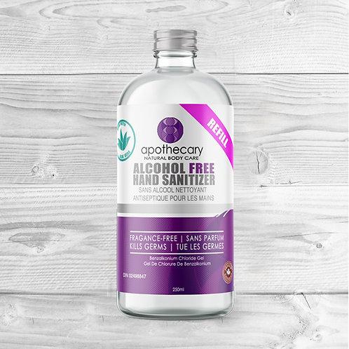 Alcohol Free Hand Sanitizer Gel Refill 250ml DIN02498847