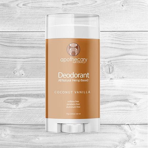 Coconut Vanilla All Natural Deodorant
