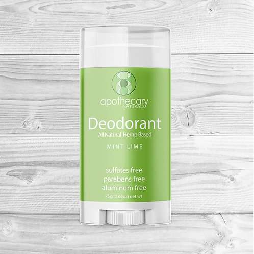 Mint Lime All Natural Deodorant