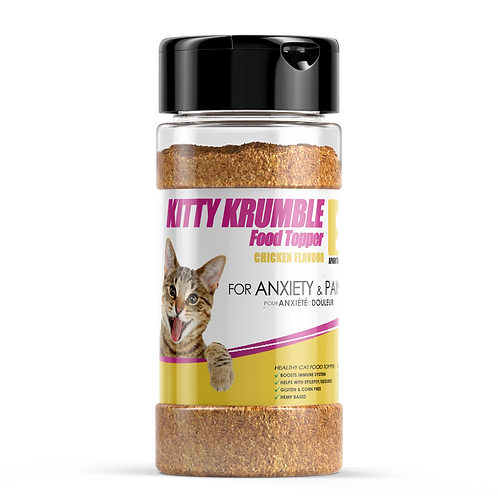 KITTY KRUMBLE FOOD TOPPER - Chicken Flavour -170g