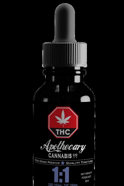 1:1 CBD:THC Tincture