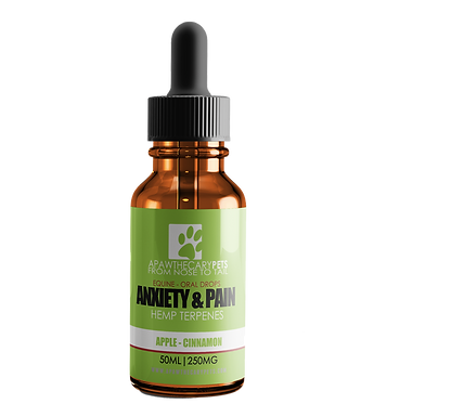 Horse Oral Drops - Apple Cinnamon Flavour - 50mL bottle - 250mg