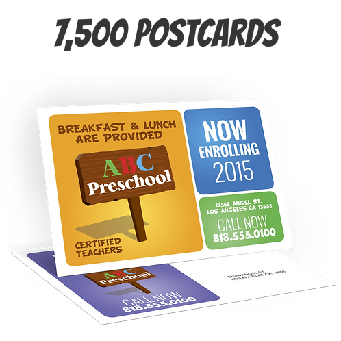 """7,500 4"""" x 6"""" Post Cards"""