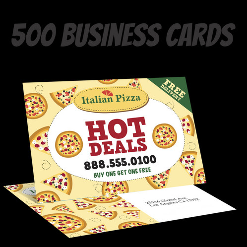 500 full color double sided business cards colourmoves