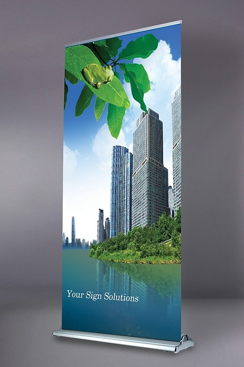 "24"" x 79"" Premium Retractable Banner"