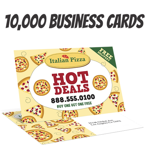 10000 Full Color Double Sided Business Card