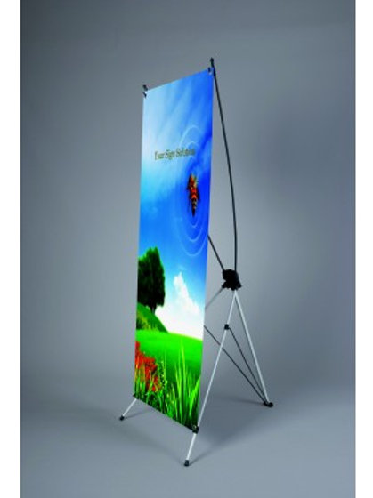 """24"""" x 63""""' X-Banner Stand"""