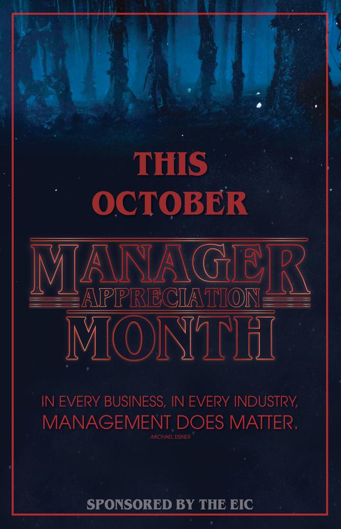October Appreciation Month