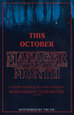 October Appreciation Month