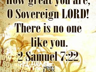 2 Samuel 7:22