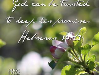 Hebrews 10:22-23