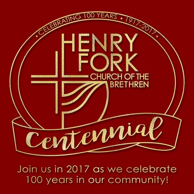 Henry Fork Church Centennial