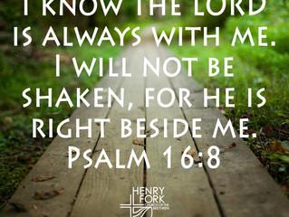 Psalm 16:8-11