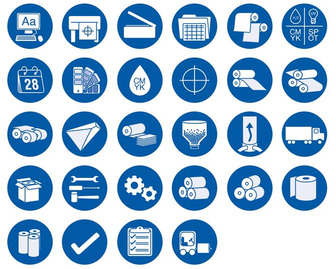 Flexographic Icons