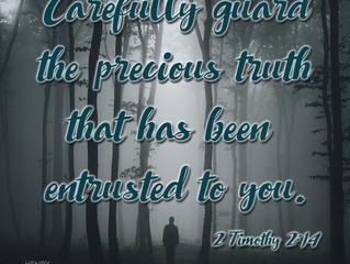 2 Timothy 2:14