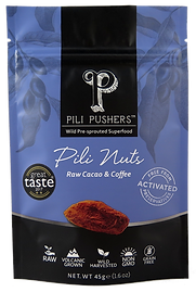 Pili Pushers Raw Cacao & Coffee Pili Nuts