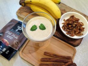 Recipe: Banana Cinnamon Pili Smoothie