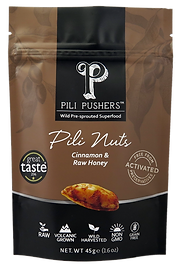 Pili Pushers Cinnamon & Raw Honey Pili Nuts
